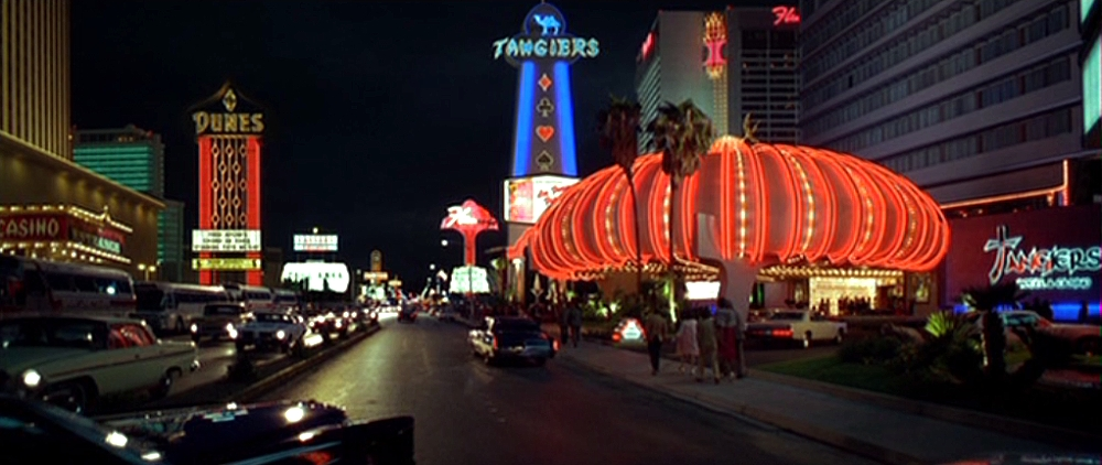 The fictional Tangiers Casino in Las Vegas